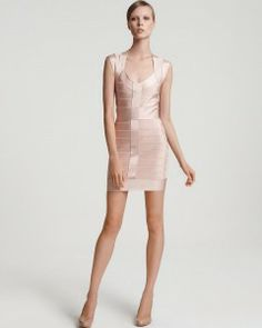 Elegant In Fit: French Connection Bandage Dress: French Connection Bandage Dress Nude ~ Dresses Inspiration