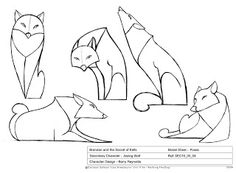 Secret of kells wolf design