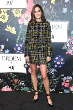 See how Zendaya, Kate Bosworth, Kirsten Dunst, and other It girls all styled Erdem x H&M in Los Angeles.