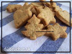Krekry s bazalkou Cookies, Desserts, Food, Basket, Crack Crackers, Tailgate Desserts, Deserts, Eten, Cookie Recipes