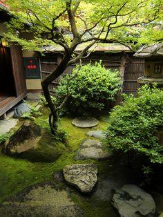 Japanese gardenin SUMIYA Shimabara,Kyoto,Japan 2014