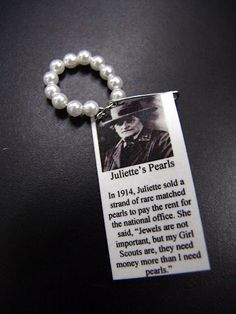 Juliette Gordon Low Pearl Story SWAP