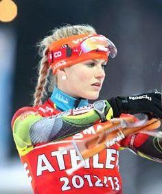 Czech girls : Gabriela Soukalová, World Champion in biathlon #Czechia…