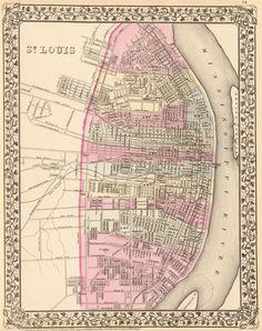 1880 City of St. Louis