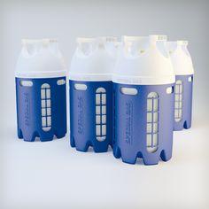 Garrafa para Glp de materiales compuestos de Special Gas S.A., distinguida con el Sello de Buen Diseño 2013.