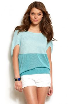 Armani Exchange Womens Colorblock