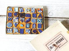 Vintage rubber school stamps