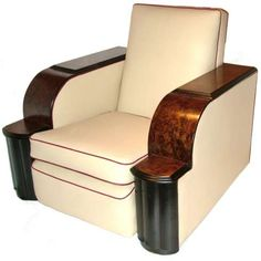 Art Deco 1930s chair