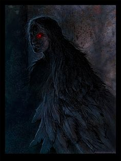 Somewhere in deep dark forest Striga is a creature from slavic (and not only) folklore, a little similar to vampire (killing,drinking blood). She could also change into an owl to hunt at night. I p...