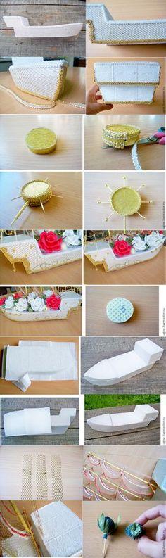 Мастер-класс: свадебный корабль из конфет - Ярмарка Мастеров - ручная работа, handmade