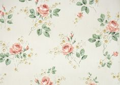 vintage wallpaper orange roses