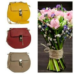 Happy day & happy flowers & happy bags