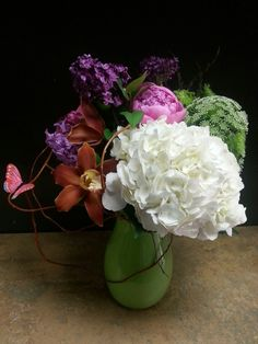 Purple blue and white flower arrangement for wedding and events purple blue and white flower arrangement for wedding and events my flower arrangements pinterest white flower arrangements flower arrangements and mightylinksfo