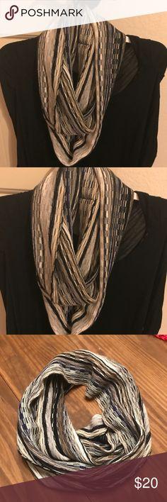 J. Jill Infinity Scarf NWT J.Jill striped infinity scarf J. Jill Accessories Scarves & Wraps