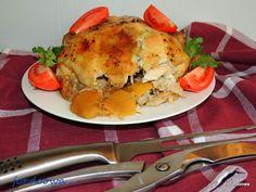 Moje Małe Czarowanie: Kurczak pieczony z kiszonymi cytrynami