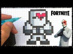chadessin pixel art fortnite - YouTube Perler Bead Art, Perler Beads, Image Pixel Art, Minecraft Beads, Hamma Beads Ideas, Arte 8 Bits, Modele Pixel Art, Graph Paper Art, Leg Sleeve Tattoo