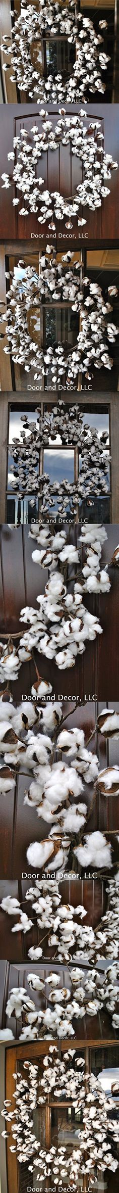 "Cotton wreath~cotton boll wreath~Fixer Upper~26"" cotton wreath~cotton decor~rustic wreath~rustic wedding wreath~farmhouse wreath~country decor~rustic farmhouse decor"