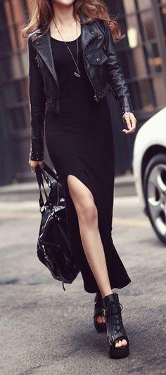 Black on black...love it! <3