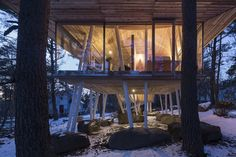 Gallery of One Year Project / Life Style Koubou - 13 Architecture Romane, Architecture Baroque, Architecture Design, Modern Japanese Architecture, Amazing Architecture, Project Life, Modular Housing, Gate House, Mountain Vacations