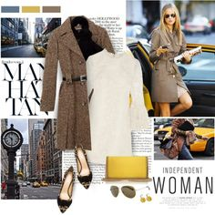 A fashion look from January 2015 featuring Yves Saint Laurent dresses, Charlotte Olympia pumps and STELLA McCARTNEY shoulder bags. Browse and shop related look…