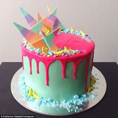 Masterpieces: Each cake takes approximately three days from start to completion...