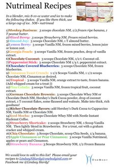 Message me to receive a PDF of these recipes!! @http://www.facebook.com/LindseyHardyInspiringOptimalHealth?fref=ts    www.lhardy.usana.com