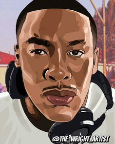 Dr.Dre Straight Outta Compton, Music Industry, Fantasy Art, Fictional Characters, Fantastic Art, Strait Outta Compton, Fantasy Characters, Fantasy Artwork