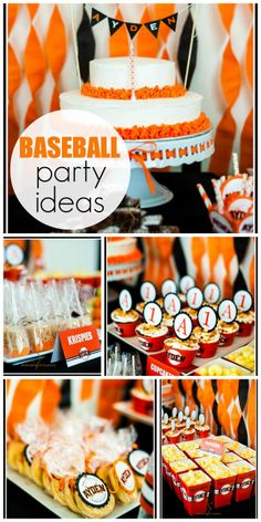 Here's a 1st birthday party that is inspired by the SF Giants Baseball Team!