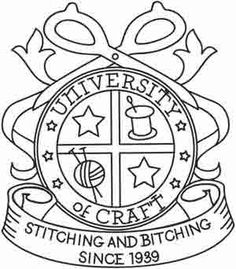 University of Craft | Urban Threads: Unique and Awesome Embroidery Designs