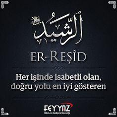 Cübbeli Ahmet Hoca: Esmaül Hüsna Resimli Türkçe Anlamları Allah Islam, Islamic Art, Religion, Names, Faith, Words, Argo, Antalya, Loyalty