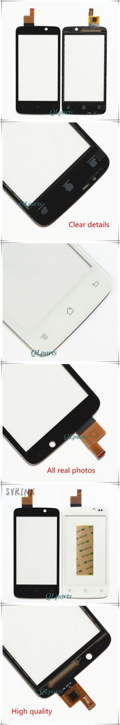 High Quality Mobile Phone Touch Screen Digitizer For Fly IQ447 IQ 447 ERA Life1 Front Glass Panel Touchscreen Sensor replacement