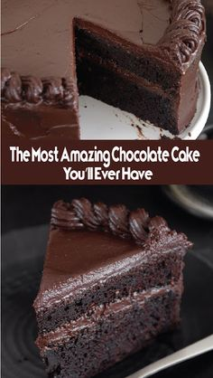 Decadent chocolate pound cake with a luscious chocolate ganache on top. This easy chocolate pound cake recipe is a chocolate dream! Chocolate Pound Cake, Chocolate Desserts, Chocolate Christmas Cake, Decadent Chocolate, Chocolate Ganache, Baking Recipes, Cake Recipes, Dessert Recipes, Quick Dessert
