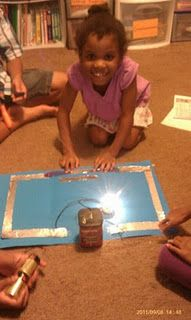 Creating electrical circuits with foil.