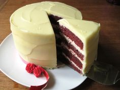 Legitimate red velvet cake (The real deal, made with beets instead of gallons of artificial food coloring)