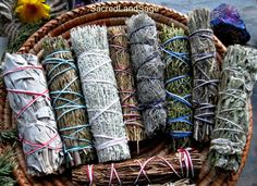 The best 11-traditional sages for your Blessing Ceremony. From the coast, mountains and deserts of CA, UT, CO, NM. + Palo Santo from Peru.