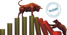 Benchmark indices ended the day on a lower note, but not before staging a recovery from the day's low post the RBI's policy announcement. The Street had factored in the central bank's decision. A rally in real estate stocks could have helped in the recovery.