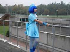 Cosplay Vanne as Blue Nurse Ryomou Shimei from Ikki Tousen https://www.facebook.com/pages/Cosplay-Vanne/126454434178264