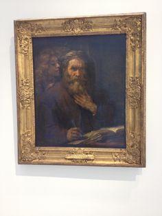De apostel Mattheus en de engel -Louvre -Lens