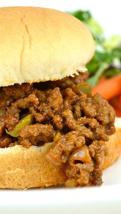 My All-Time Favorite Sloppy Joes Recipe. Quick, Easy and Really Yummy! The sauce is like a sweet homemade bbq sauce!