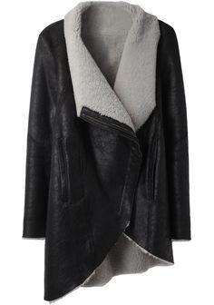Helmut Lang / Shearling Coat