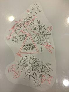 3rd drawing Photo Sequence, Trash Polka, Tattoo Photos, Timeline, Tattoos, Drawings, Tattoos Pics, Tatuajes, Japanese Tattoos