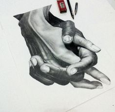 Wiping.. #art #drawing #painting  #pencil