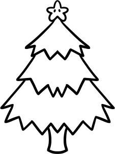 How To Draw A Christmas Tree For Kids Step 6 Easy Christmas Drawings Christmas Tree Drawing Easy Christmas Tree Drawing