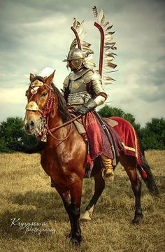 knight-of-the-nation:  Polish Winged Hussar.  The last knights.