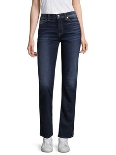 7 For All Mankind - Dylan Straight Flared Jeans