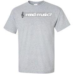 Read Music Treble Clef T-Shirt