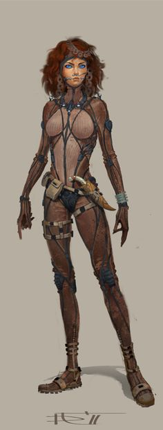 Dune - Chani costumes by Gorrem on deviantART Not really how I pictured her, but interesting nonetheless.