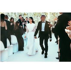 Pin for Later: Does Kanye West Ever Get Excited About Anything? But Getting Married to His Longtime Crush, Kim? Yes! Source: Instagram user kimkardashian