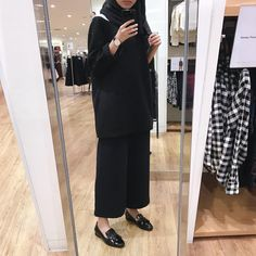 Muslim Women Fashion, Islamic Fashion, Casual Hijab Outfit, Hijab Chic, Fashion 101, Girl Fashion, Fashion Outfits, Abaya Fashion, Modest Fashion