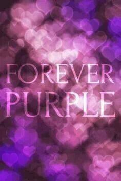 Love of purple...